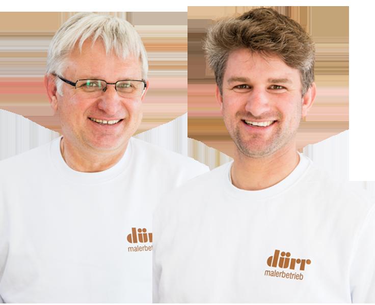 Ihre Malermeister Oskar und Matthias Dürr