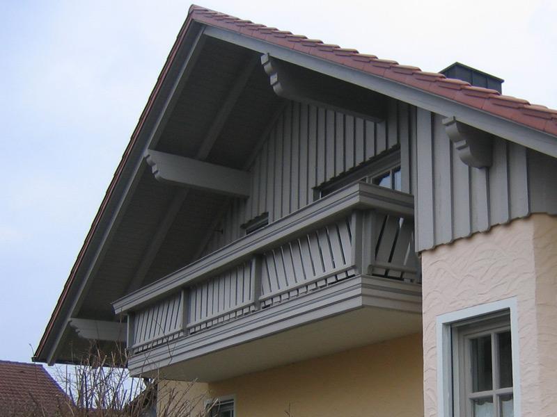 Holzschutz mit Malerbetrieb Dürr nahe Straubing.